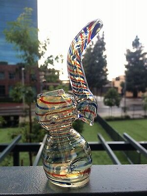 Collectible Tobacco Glass Water Pipe Bong Bubbler Hookah Rig 6""