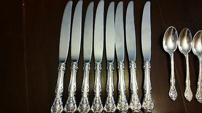 Gorham Sterling 'King Edward' Dinner Knife (s) 9""