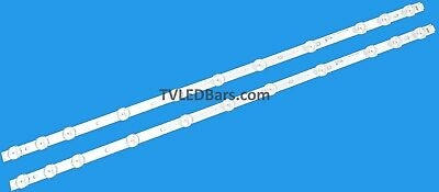 Replacement Backlight Array LED Strip JVC LT-32C346 LT-32C740 LT-32C650 (A) (B)