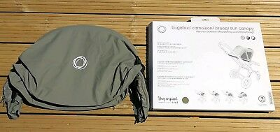 BUGABOO Cameleon 3 Breezy Sun Canopy, KHAKI, With Box in Excellent condition