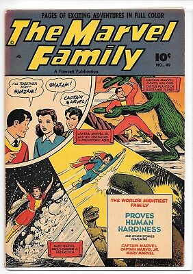 The Marvel Family #49 (Jul 1950, Fawcett)