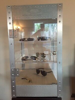 vintage Oakley countertop display case