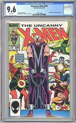 Uncanny X-Men #200 - Cgc 9.6 - Wp Nm+