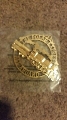 Unopened disney polar express christmas ornament