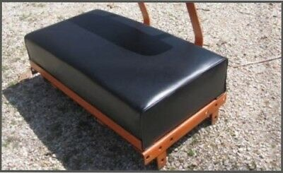 Allis Chalmers B-C SEAT cushion ~ smooth black or orange