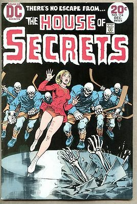 House Of Secrets #114-1973 fn Nick Cardy DC Horror Frank Bolle