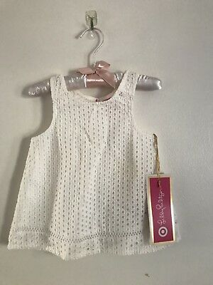 Lilly Pulitzer For Target Girls Top 12 Months (new)