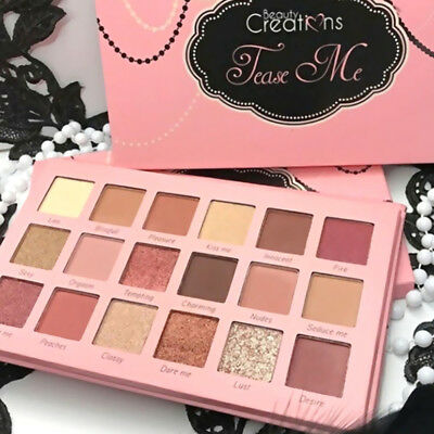 18Color Matte Eyeshadow Pallete Make Up Earth Wine Red Palette Eye Shadow Makeup