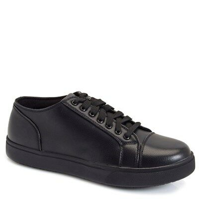 DS Work Station Men's Lace-Up Oil & Slip Resistant Work Shoes NWT