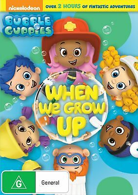 Bubble Guppies When We Grow Up DVD Region 4 NEW