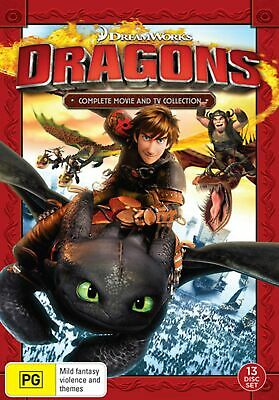 Dragons Complete Movie and TV Collection Box Set DVD Region 4 NEW