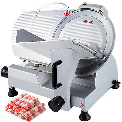 """Commercial Electric Meat Food Slicer Deli Butcher 250 mm 10"""" Blade Cheese"""