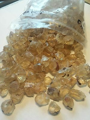 Oregon Sunstone Facet Grade Rough from Sunstone Butte -Champagne under 20ct -1kg