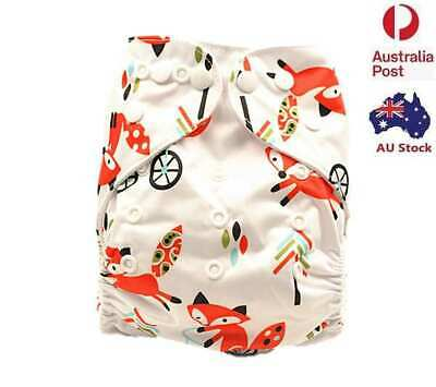 New Baby Modern Cloth Nappies Diaper Nappy Minky Adjustable Reusable MCN (M07)