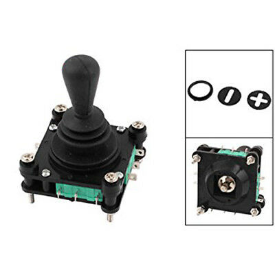 AC 240V 5A 4NO 4NC Momentary 2.5mm Fixing Thread Joystick Switch K1L4