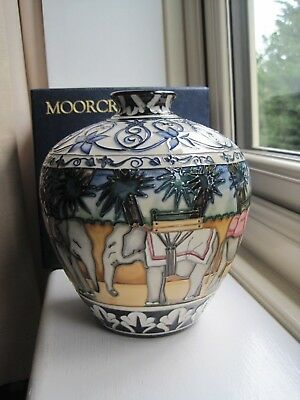 Moorcroft Kerala 816 Elephants Limited Edition Of Only 400