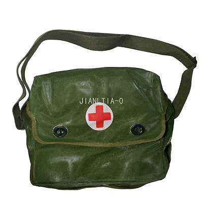 Surplus Type 65Chinese PLA First Aid Medical Pouch Bag Green