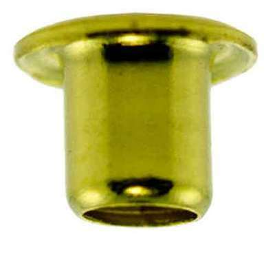 """3/16""""x3/16"""" Solid Brass EYELETS (10) for Standard Gauge Scale Trains Parts"""