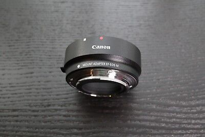 Canon OEM Original Mount Adapter EF to EF-M for Canon Camera M3 M5 M6 M100 M50