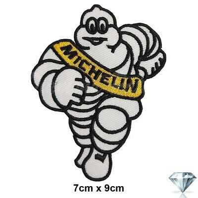 Michelin Tyres Motor Sport Racing Sew Or Iron On Patch