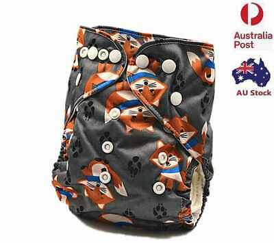 Modern Cloth Nappies Baby Boy Boyish MCN Diaper One Size Fits Most Nappy (D264)