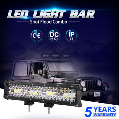 5Rows 20INCH 2176w LED Light Bar Work Lamp Combo Offroad Driving SUV Truck 4WD