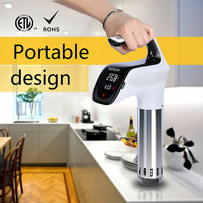 Sous Vide Precision Cooker Immersion Circulator Low Temperature Cooking 850W US