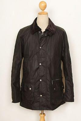 BARBOUR Walsh Waxed Jacket Green Size Large