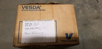 VESDA Xtralis VLS VRT-700 Remote Display Module with No Relays - New Old Stock