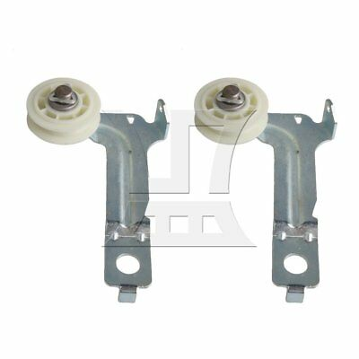 Idler Pulley Wheel /& Bracket Assembly for Whirlpool 7MWG WED WGD YWED Series