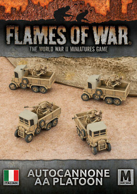 Flames of War: Autocannone AA Platoon (x4)