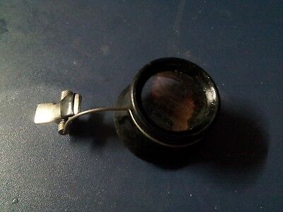 Magnifier With clip Jewelry Metal stamps Magnifying Glass