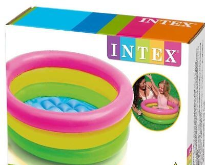 Baby-Pool-Bath-Tub-Intex-Inflatable-Baby-Pool-Multi-Color-For-Babies  Baby-Pool