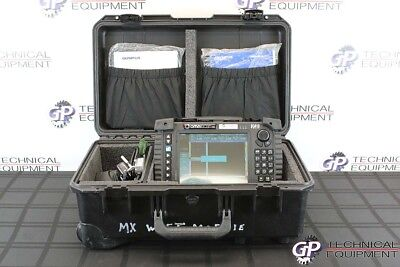 Olympus OmniScan MX EC432 Eddy Current Phased Array Flaw Detector Ultrasonic NDT