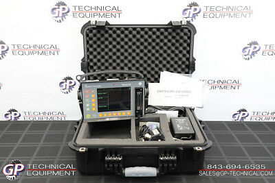 GE Inspection Phasor XS 16:64 Phased Array Flaw Detector NDT Olympus Omniscan UT