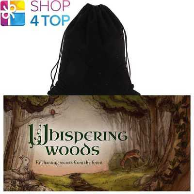 Whispering Woods Inspirational Cards Deck Esoteric Us Games Systems Velvet Bag