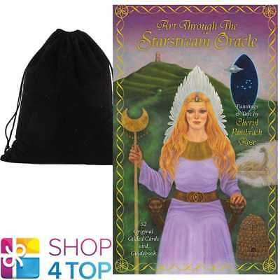 Art Through The Starstream Oracle Cards Deck Us Games Systems With Velvet Bag