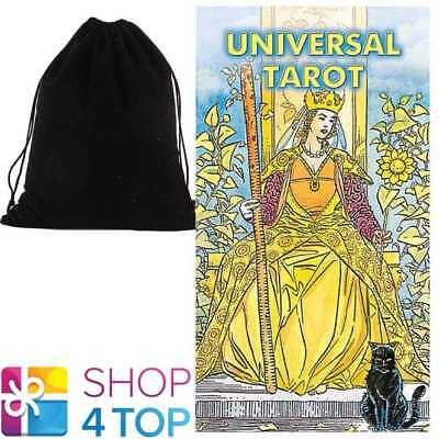 Universal Tarot Cards Deck Lo Scarabeo Esoteric Telling With Velvet Bag New