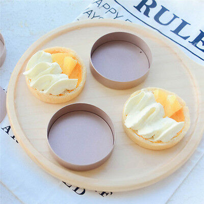 Useful DIY Round Fluted Tart Quiche Cake Non Stick Pan Pie Mould one