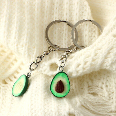 1Pc Avocado Keyring - Best Friend Keychains - BFF Keychain - Food Jewellery