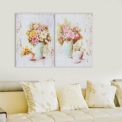 Flower Vase Abstract Wall Art Painting Canvas Print Picture Home Decor Unframed