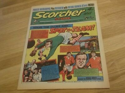 1973 Scorcher And Score Comic Charlton Athletic In Spot The Team On Cover