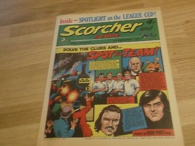1973 Scorcher And Score Comic Wolverhampton Wanderers Spot The Team On Cover