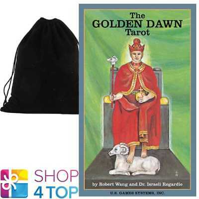 The Golden Dawn Tarot Cards Deck Esoteric Us Games Systems With Velvet Bag New