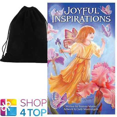 Joyful Inspirations Cards Deck Esoteric Us Games Systems With Velvet Bag New