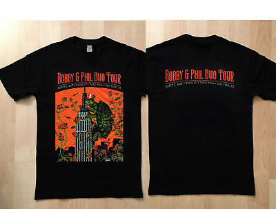 Limited bobby-and-phil-duo-tour-march-3-2018 Logo Black T shirt S-to 5XL