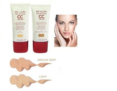 Revlon Age Defying CC Cream,Broad Spectrum  SPF 30