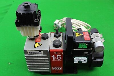 Edwards 1.5 Two Stage Pump 220/240V Rotary Vacuum Pump