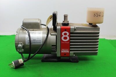 Untested Edwards 8 Two Stage E2M8 Vacuum Pump Lab Laboratory