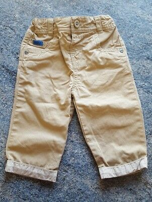Baby boys M&S autograph chinos trousers age 3-6 months - excellent condition